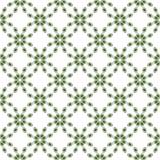 Oczy lub koralika wzoru bezszwowa zieleń Obrazy Stock