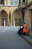 oczyszczania miasta Obrazy Royalty Free