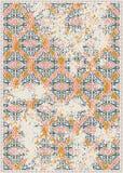 Oczyszczony dekorujący ukośnik musztardy prostokąta dywanika wektoru wzór ilustracji