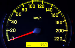 Odómetro Foto de Stock Royalty Free