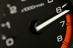 Odómetro fotografía de archivo