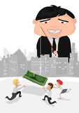 Odór jak pieniądze ilustracji