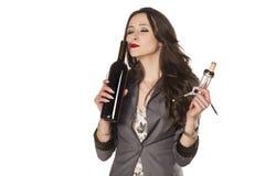 Odór wino Zdjęcie Stock