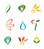 odłogowanie logo Obrazy Stock