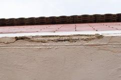 Odłupany dach zdjęcia stock