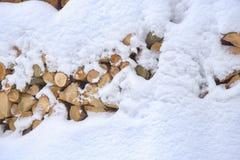 odłupany drewno zdjęcie stock