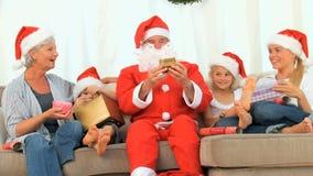 Odświętność rodzinni Boże Narodzenia zbiory