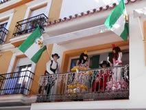 Odświętności Andalucia dzień fotografia stock