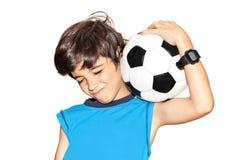 odświętności gracza futbolu zwycięstwo Zdjęcia Stock