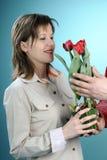 odświętności rodzinny wiosna biel Obrazy Royalty Free