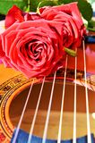 Odświętności szczęście muzyką, symbole obraz royalty free