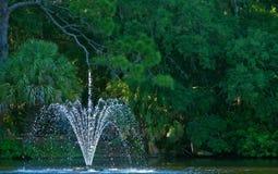 Odświeżająca fontanna Fotografia Royalty Free