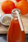 Odświeżający Pomidorowy sok Zdjęcia Stock