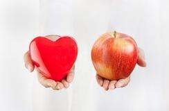 Odżywcza dieta dla zdrowej stylu życia i ciężaru straty Obrazy Stock