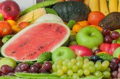 Odżywiań owoc i warzywo Obrazy Royalty Free