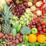 Odżywiań owoc i warzywo Obrazy Stock