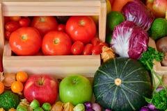Odżywiań owoc i warzywo dla zdrowego Zdjęcia Royalty Free