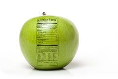 Odżywiania jabłko zdjęcia royalty free
