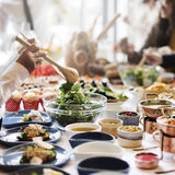 Odżywianie okazi żywienia jedzenia Restauracyjny pojęcie zdjęcie royalty free