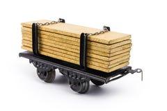 Od 1930s zabawkarski pociąg zdjęcie royalty free