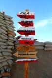 Od Afganistan Polska Fotografia Stock