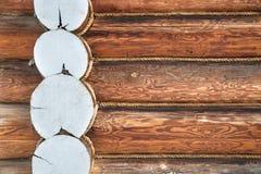Od bel drewniana ściana Obrazy Stock
