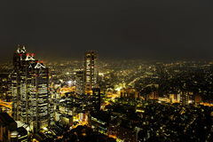 Od bezpłatnego observator Tokio Metroplitan Rządowy budynek Zdjęcie Royalty Free