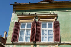Od houses in Sibiu Royalty Free Stock Photo