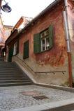 Od-hus i Sibiu arkivbilder