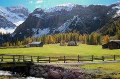 od jesieni górski Zdjęcie Stock