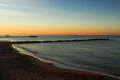 Od nabrzeża Marina Di Massa Zdjęcia Royalty Free