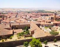 Od town landscape, Avila, Spain Stock Photo