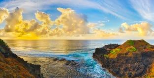 od wschodu słońca przybrzeżne panorama Obrazy Stock