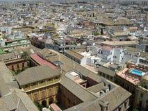 Od wysokości Seville widok obraz royalty free