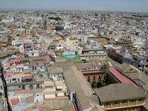 Od wysokości Seville widok obraz stock