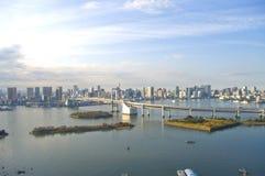 odaiba острова стоковые фотографии rf