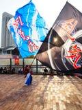 Odaiba, токио, Япония, ноябрь 2015, фестиваль Yosakoi на odaiba стоковые фотографии rf