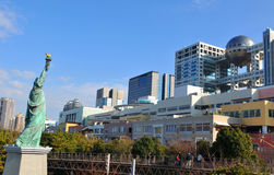 Odaiba district, Tokyo Royalty Free Stock Image