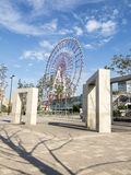 Odaiba ferris wheel and mall, Tokyo Royalty Free Stock Image