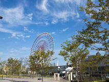 Odaiba ferris wheel and mall, Tokyo Stock Images