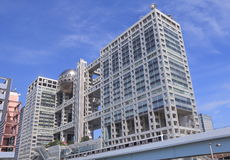 Odaiba modern architecture Tokyo Japan Royalty Free Stock Image