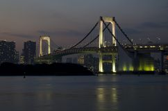 Odaiba Rainbow Bridge Royalty Free Stock Images