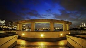 Odaiba stad Royaltyfria Bilder