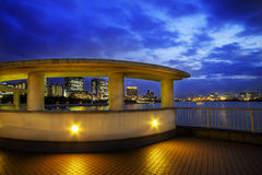 Odaiba-Stadt Stockfoto