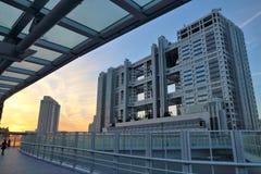 Odaiba sunset Royalty Free Stock Images