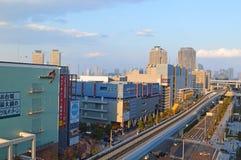 Odaiba in Tokyo Lizenzfreies Stockbild