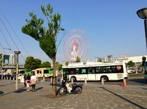 Odaiba Tokyo. Tokyo odaiba joy Royalty Free Stock Image