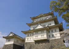 Odawara castle, Japan. National Historic Site. Main keep of Odawara castle, Japan. National Historic Site Royalty Free Stock Photography