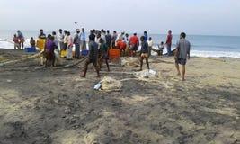 Odayam beach Stock Image