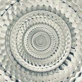Odbłyśnik mozaiki bezszwowy abstrakcjonistyczny kruszcowy fractal ilustracji